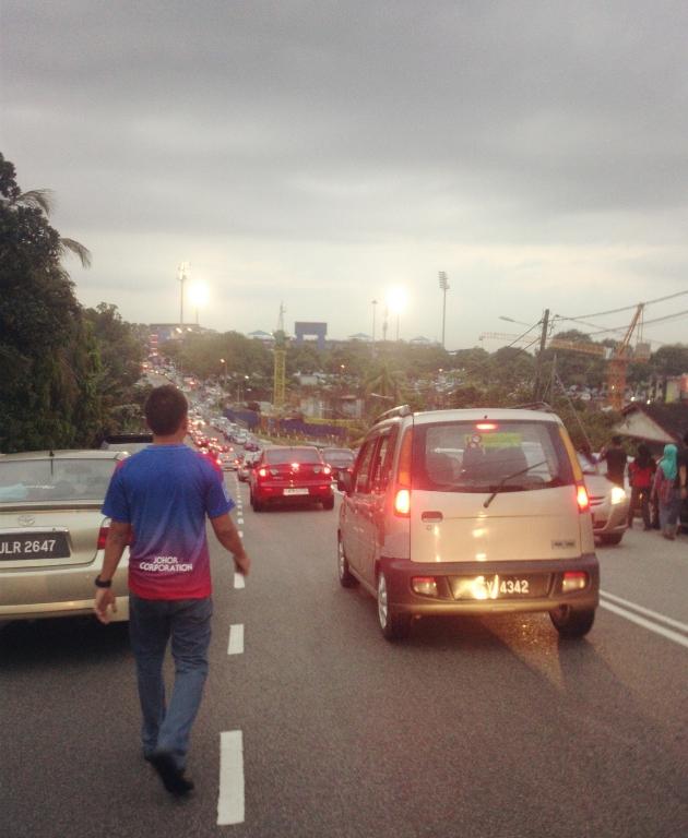 Liga Super : Johor Darul Takzim vs Terengganu