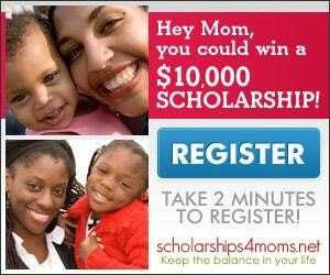 Moms, Enter to Win a $10,000 Scholarship!