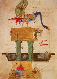 Robot Burung Al Jazari