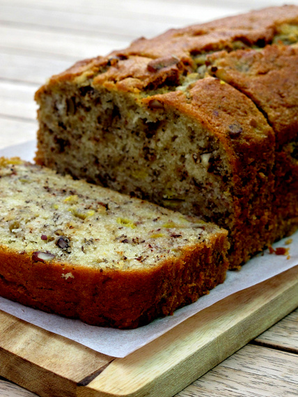 frozen wings: Banana Nut Bread