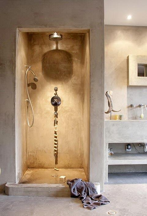 Boiserie & c.: bagni in cemento