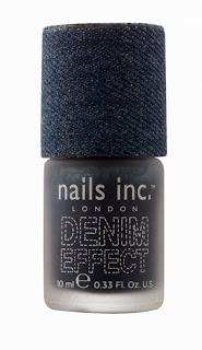 Uñas efecto tela vaquera con Nails Inc