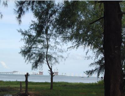 pantai seagte jambatan pulau pinang kedua ke batu maung