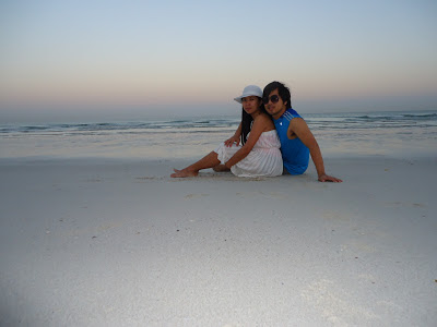 lady_and_ed at UAE's best private beach