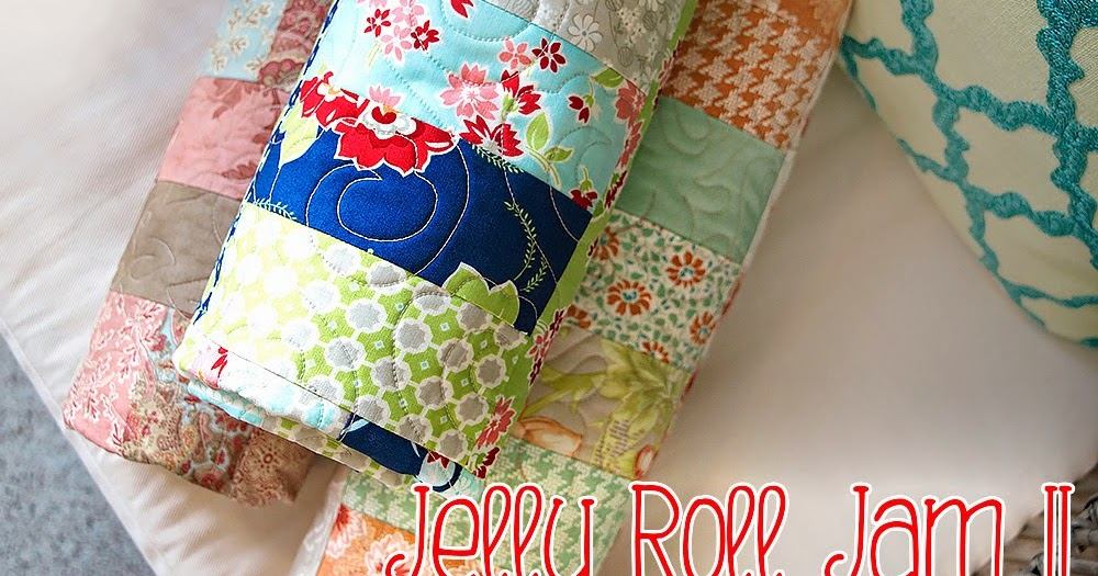 Jelly Roll Jam Ii Free Quilt Pattern With Fat Quarter