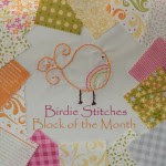 Doing Birdie Stitches