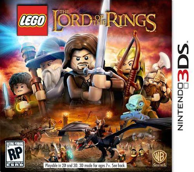 Lego Lord Of The Rings 3DS Box Art US