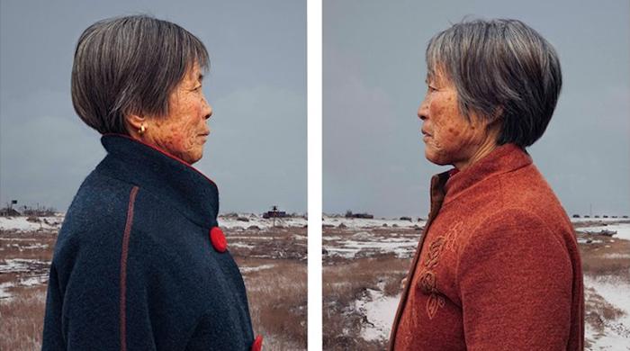Retratos de gemelos idénticos a la edad de 50 revelan similitudes y diferencias en el tiempo