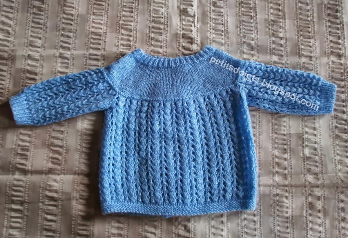 modele tricot bebe ancien