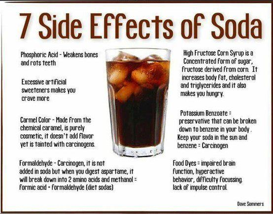 7 soda side effects jjbjorkman.blogspot.com