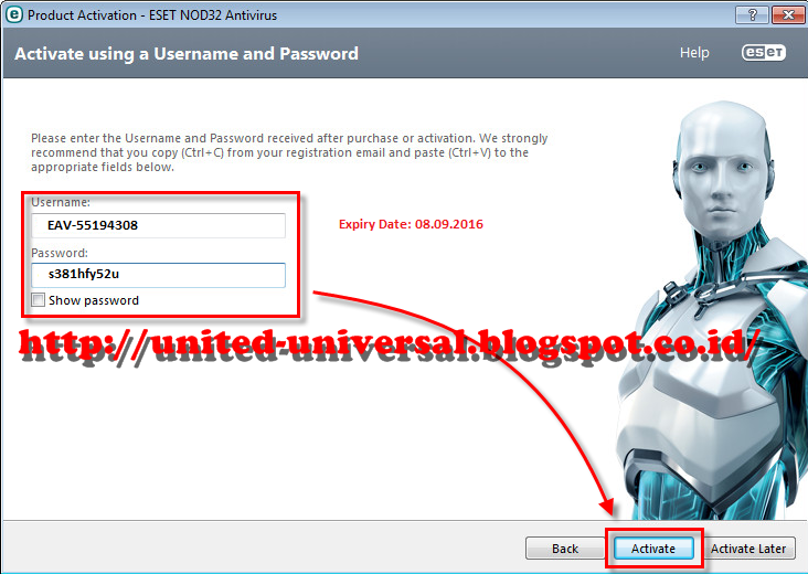Update 2017 Eset Nod32 Username And Password