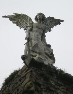 L'àngel exterminador (Josep Llimona i Bruguera)