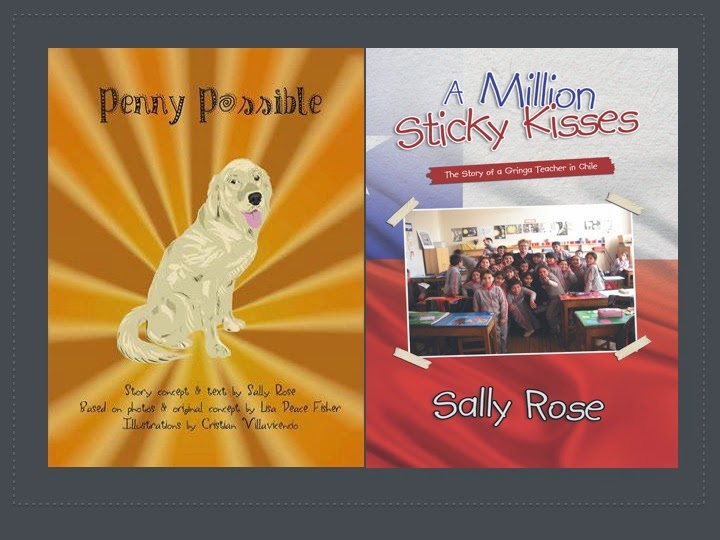 My Books: Penny Possible and A Million Sticky Kisses