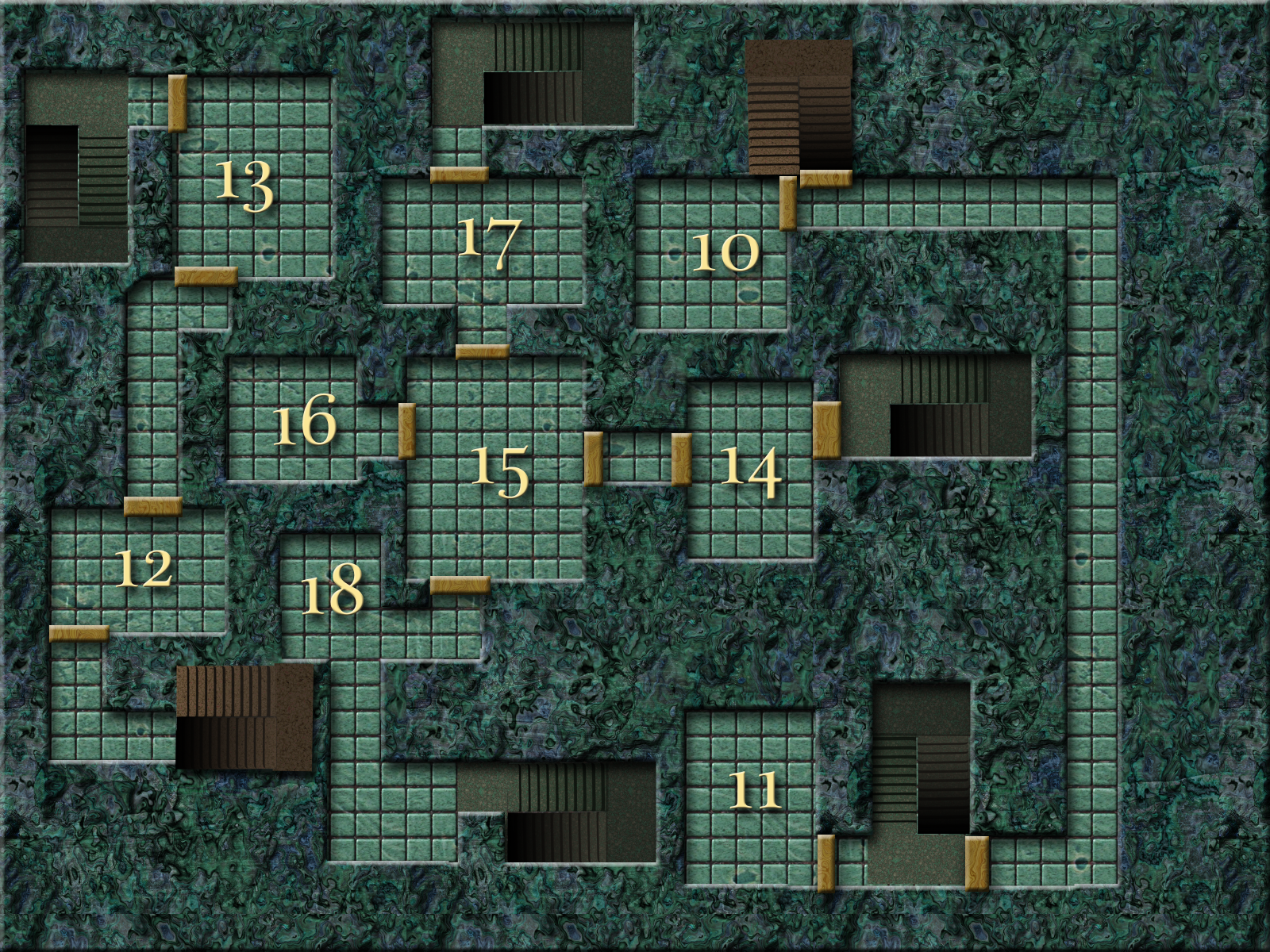 Dnd Maps Completed 3d Maze