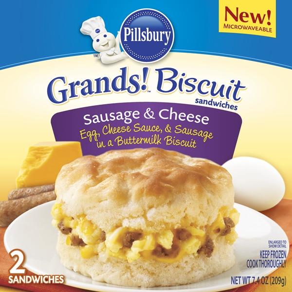 ... Start The Day! Pillsbury® Egg Scrambles & Grands! Biscuits Sandwiches