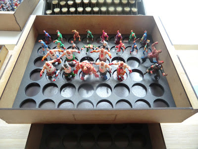 Sally, 4th, forth, Storage, crisis, miniatures, cheap, wood, zombies, zombicide, survivors, safe