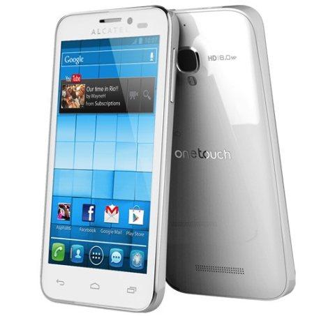 Nuovo smartphone android jelly bean 4.2 in arrivo ad aprile da parte di Alcatel