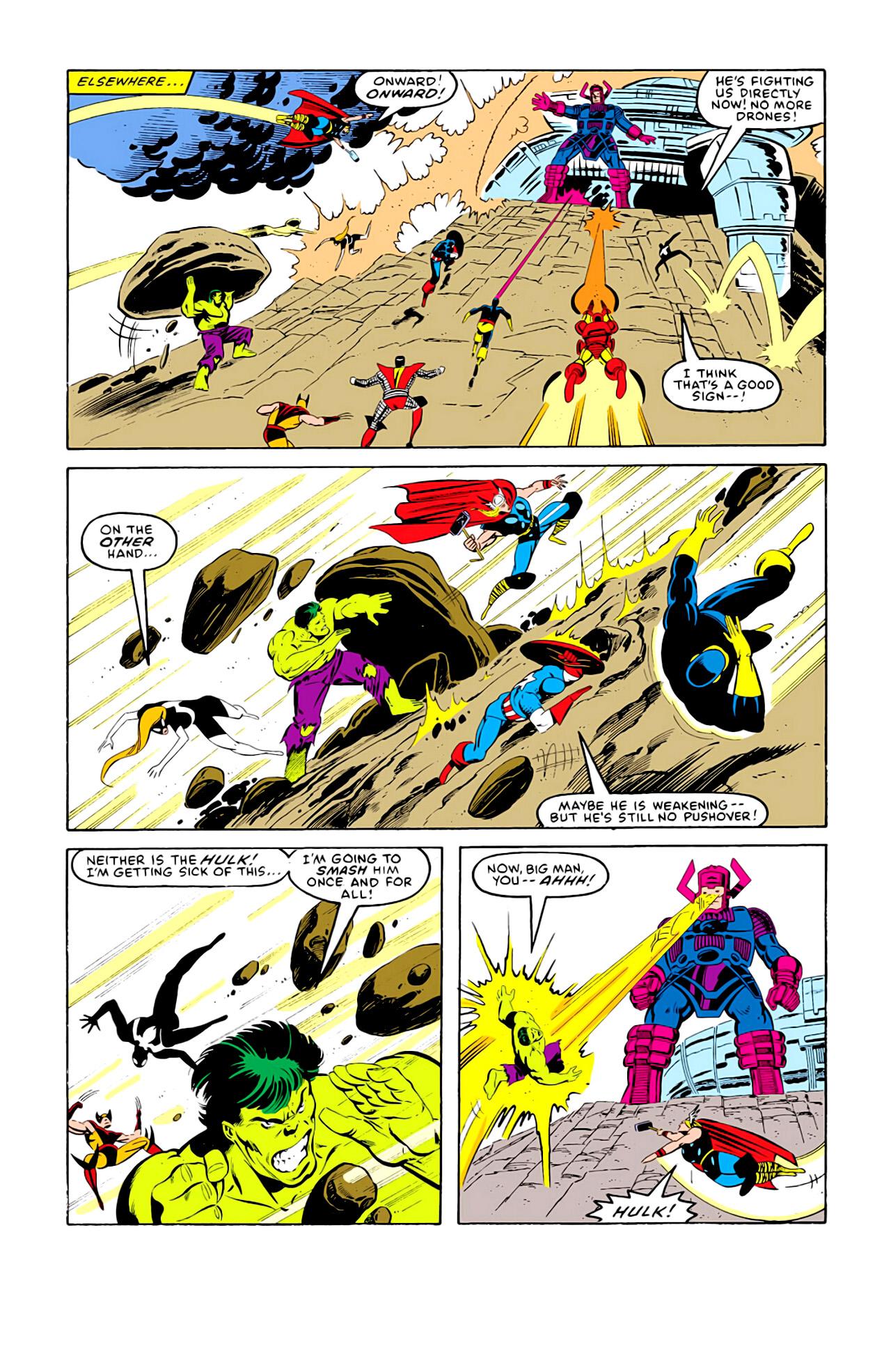 Captain America (1968) Issue #292j #217 - English 21
