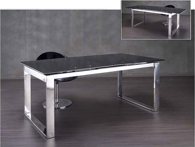 Fabricamos mesas decorativas de acero inoxidable for Mesa inoxidable