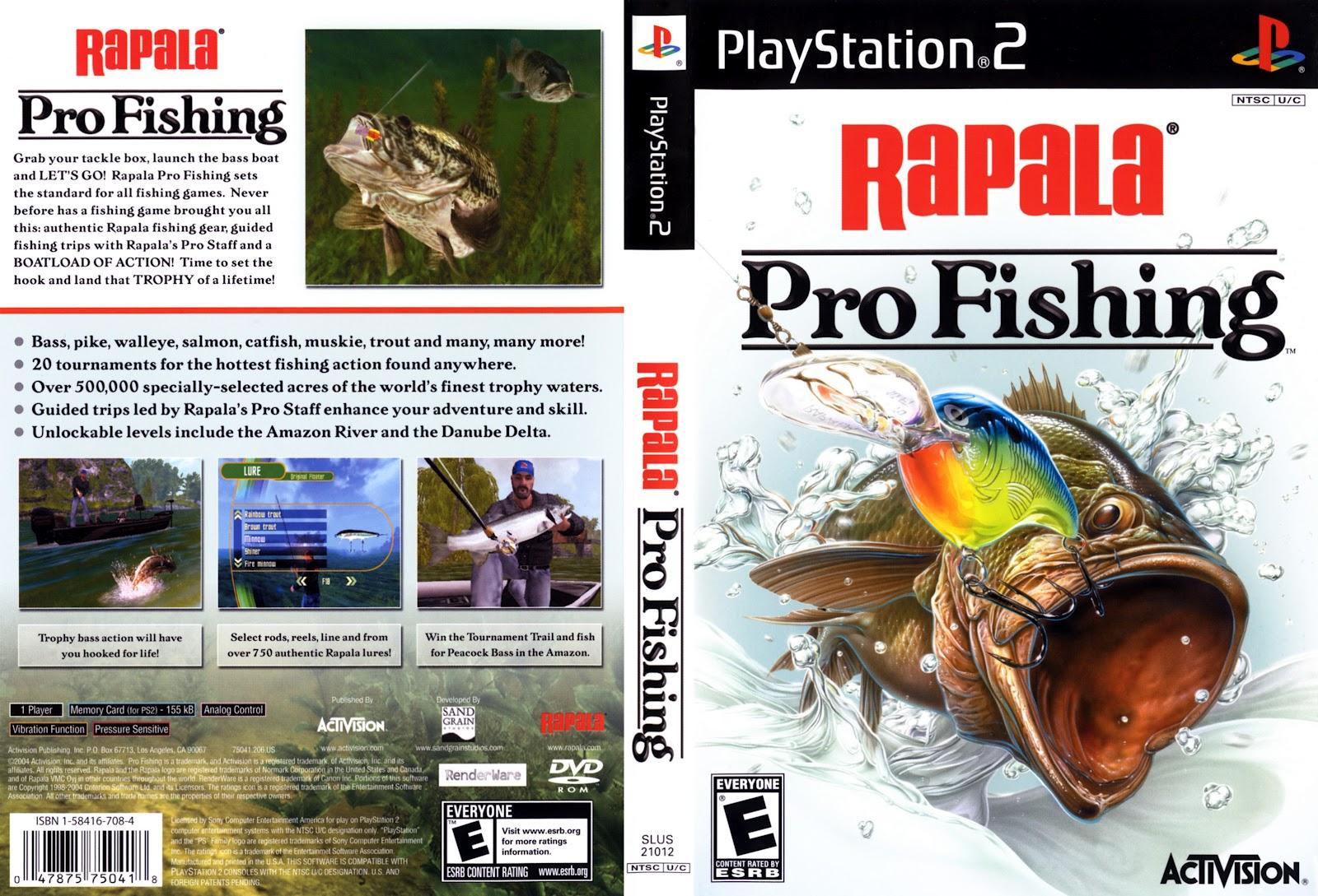 Makajoogames pc rapala pro fishing mediafire for Rapala pro fishing