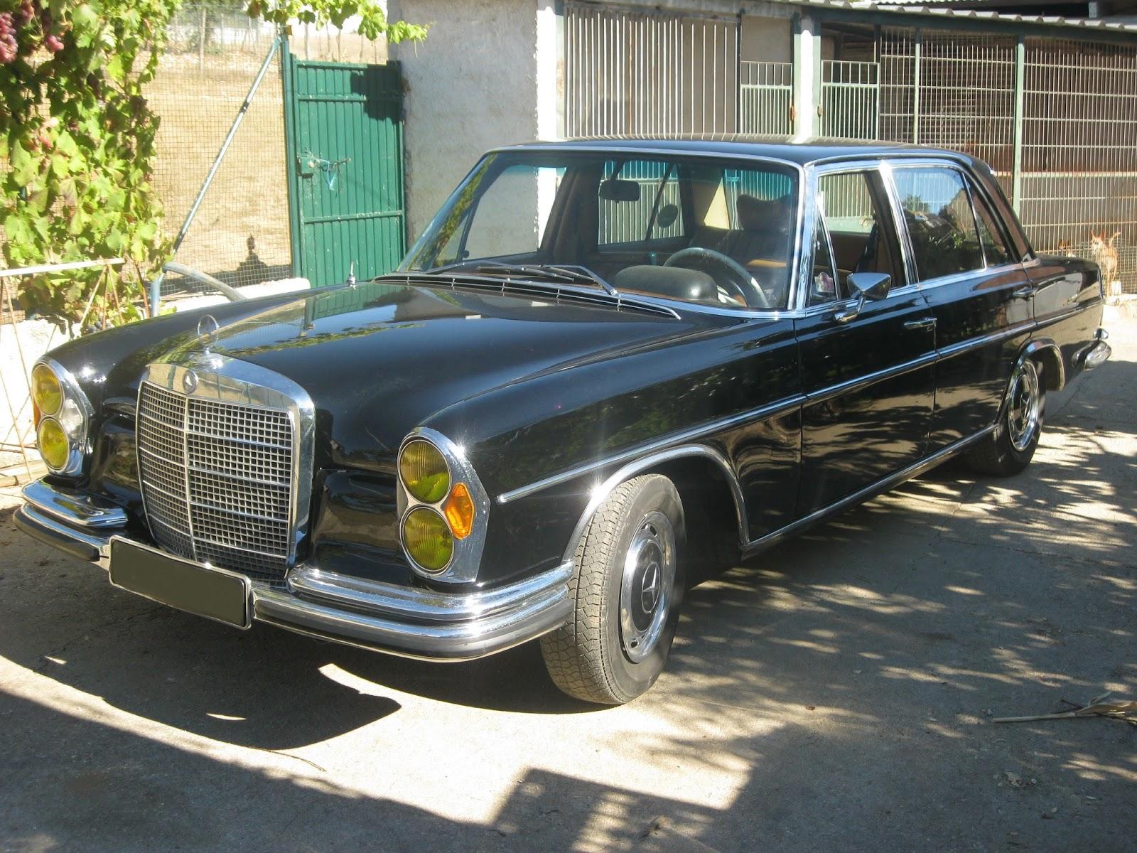 Classicos em portugal mercedes 300 sel 3 5 antigo carro for Mercedes benz pt