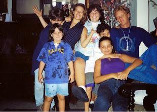 Fotos raras da adolescência em família