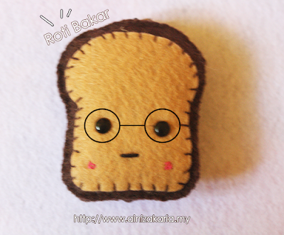 Bread Felt Craft