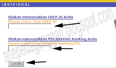 user id dan pin klikbca.com