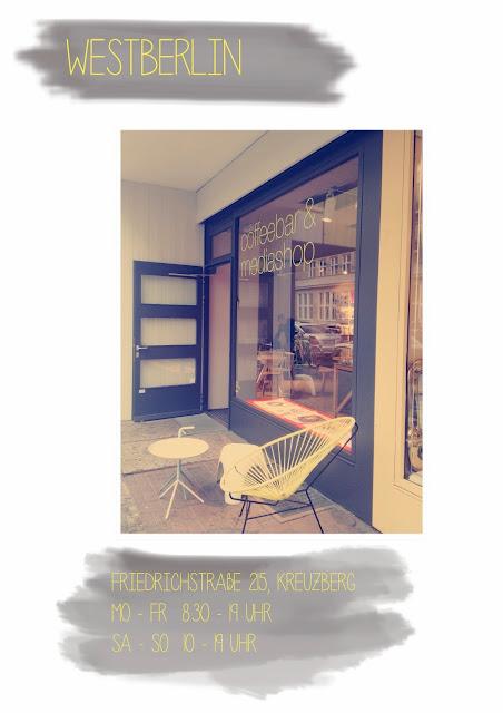 Café Westberlin coffeebar und mediashop