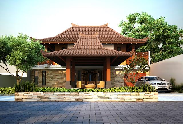 Ini Desain Rumah Joglo Modern