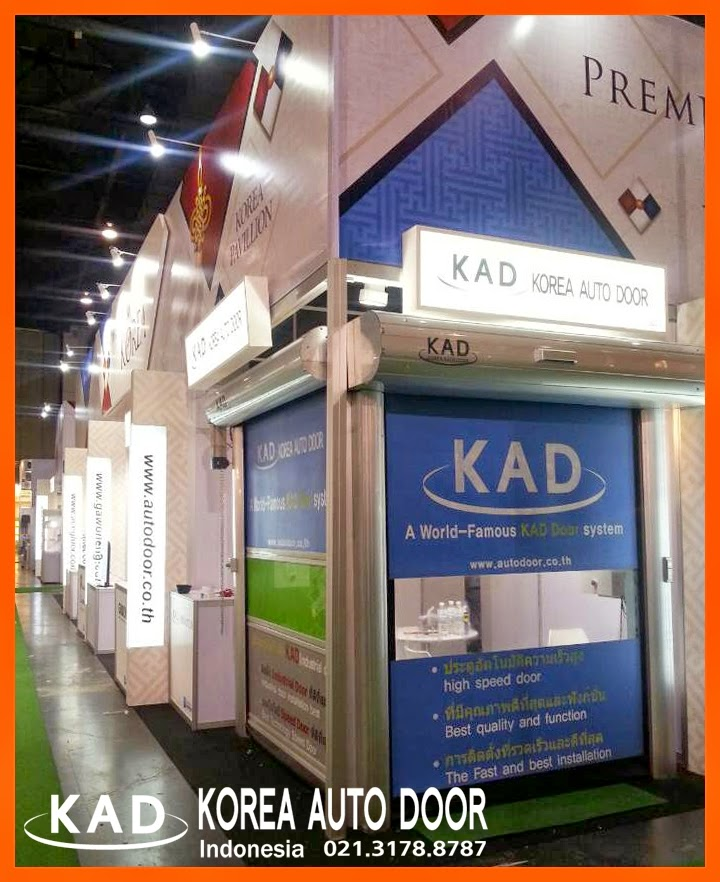 High speed doors participated in a exhibition held in thailand metalex.