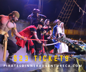 Get this Deal for Pirates Dinner Adventure!