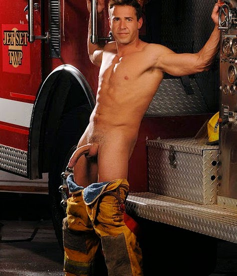 Hot Sex With A Fireman