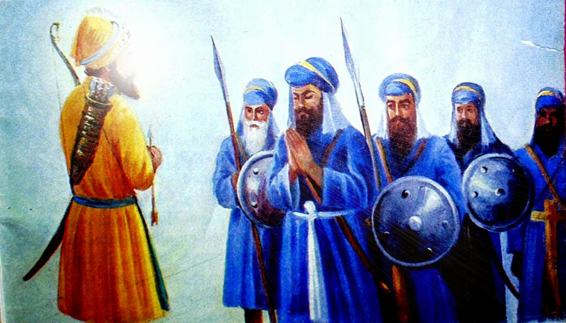 Guru Gobind Singh ji Kalgi However Guru Gobind Singh Jee