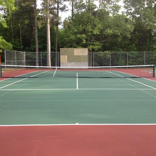 Saline River Chronicle News: City Tennis Courts Resurfaced