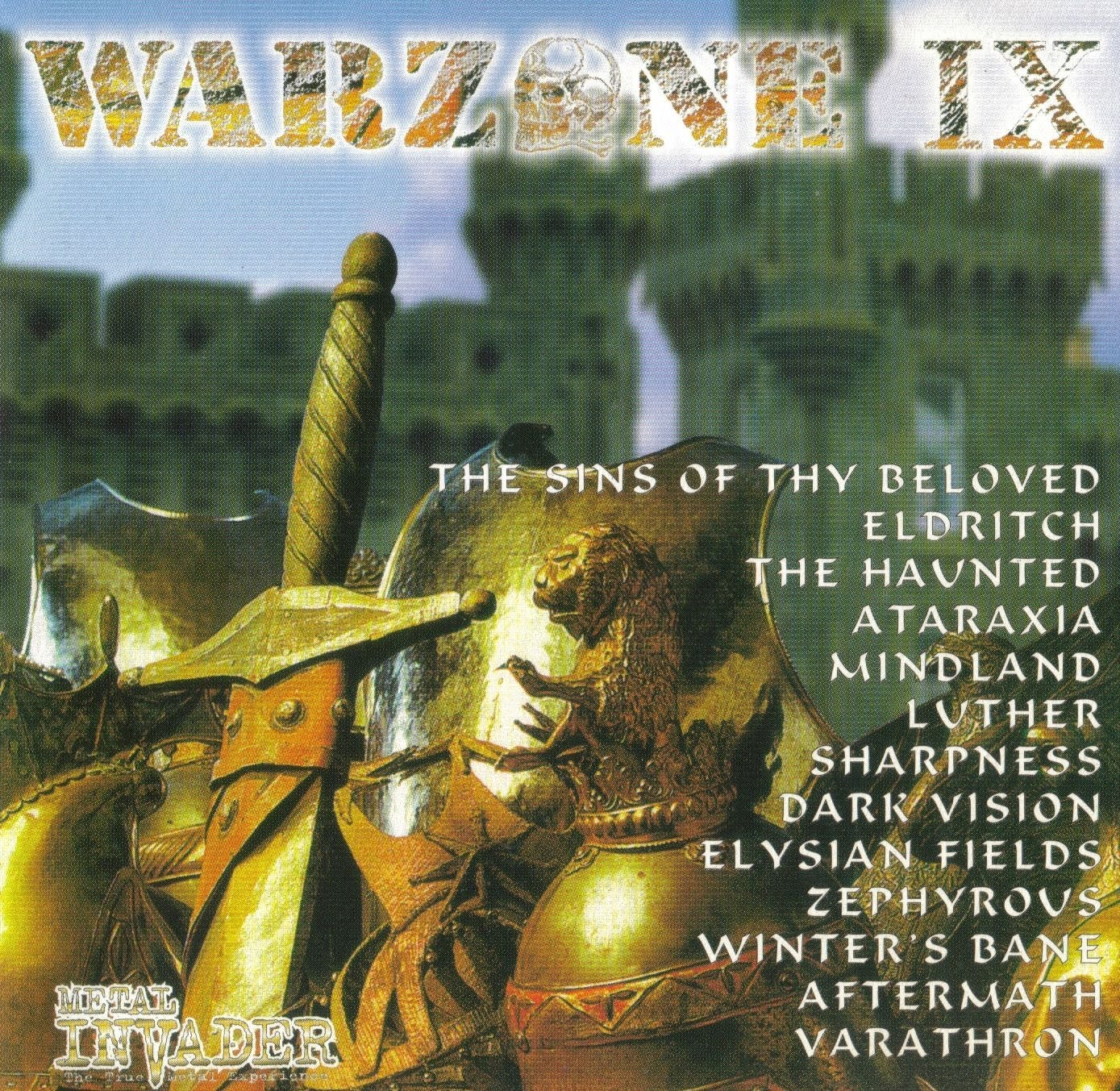 Warzone IX (9) - 1998 1. The Sins Of Thy Beloved (Nor) - My Love 2. Eldritch (Ita) - Bleed Mask Bleed 3. The Haunted (Swe) - Bullet Hole