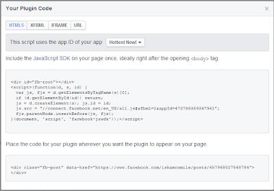 Facebook Configurator tool