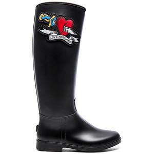 Galochas Love Moschino Heart Rain Boot