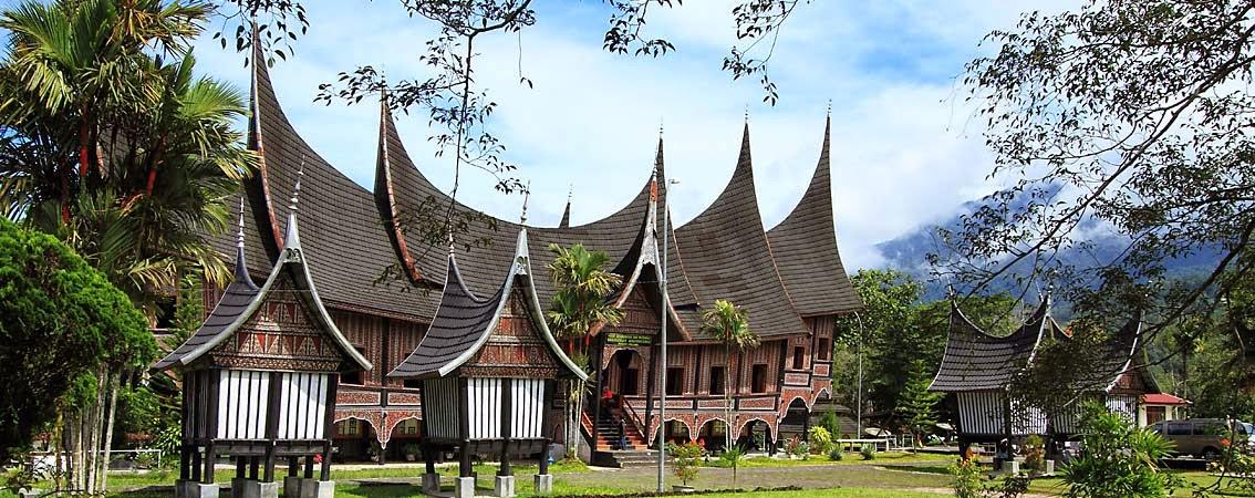 Bentuk  Jenis Rumah Adat Minangkabau