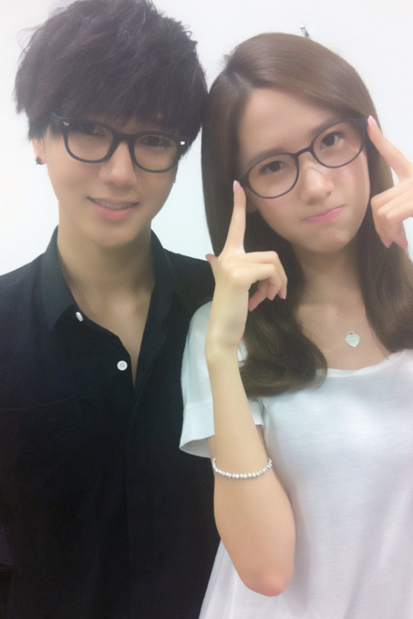 YOONA Selca with Yesung