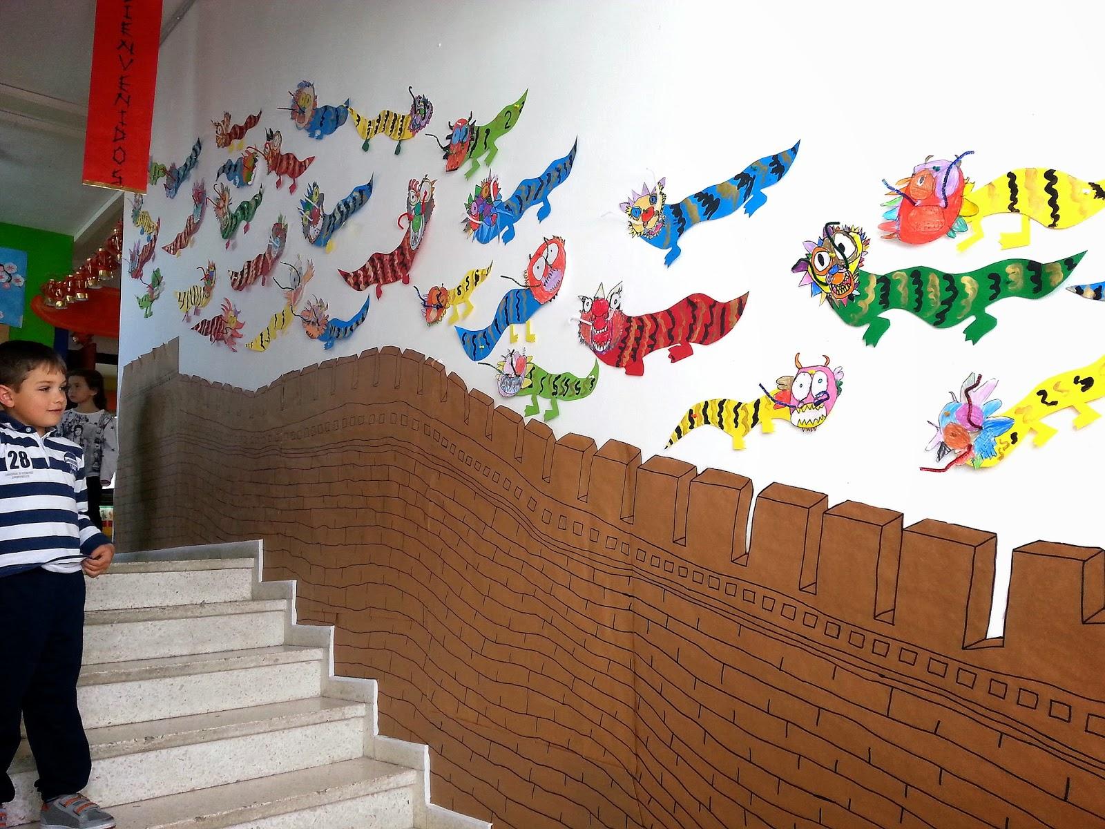 Mis cositas de infantil preparamos china for Adornos para murallas