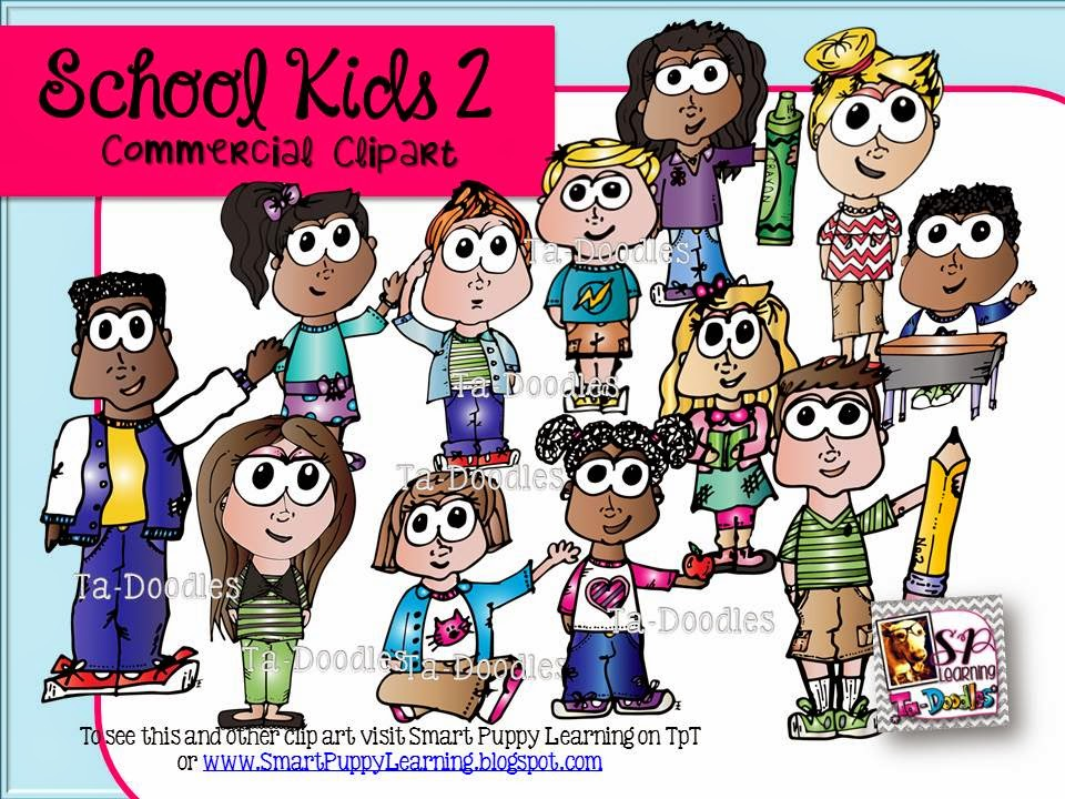 http://www.teacherspayteachers.com/Product/School-Kids-2-Commercial-Clip-Art-1356214