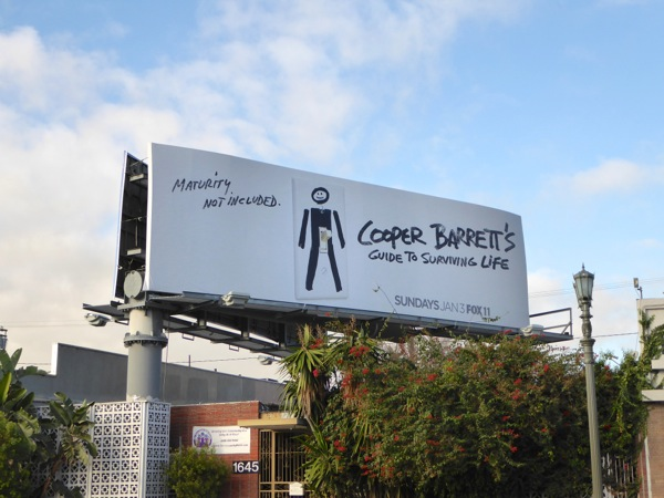Cooper Barrett's Guide to Surviving Life billboard