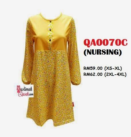 T-Shirt-Muslimah-Qaseh-QA0070C