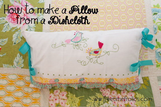 Embroidery Pillows