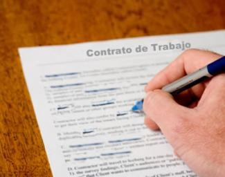 El derecho laboral en venezuela contrato de trabajo de for Contrato indefinido ejemplo