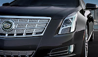 Cadillac XTS (2013) Front Side Detail