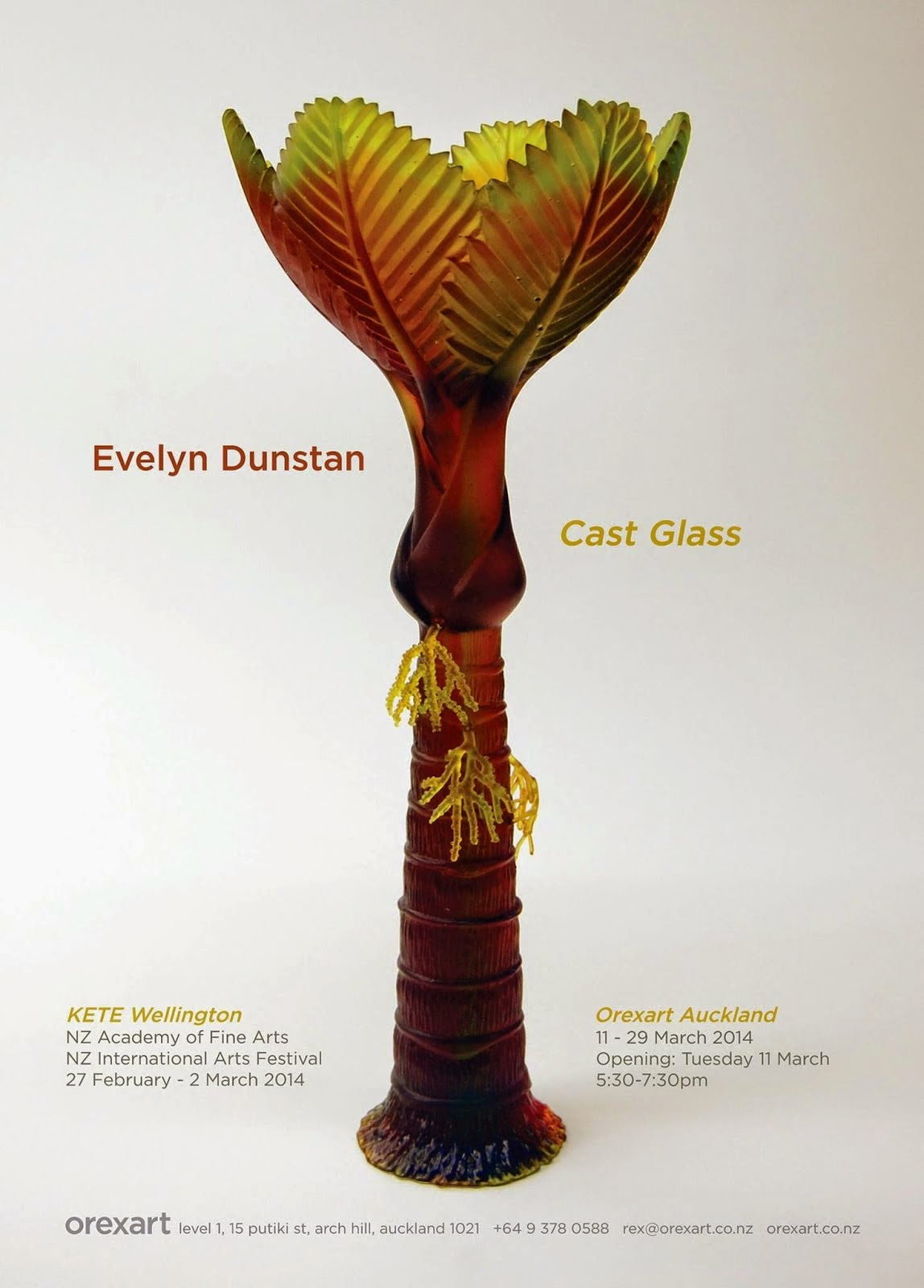 Evelyn Dunstan Cast Glass