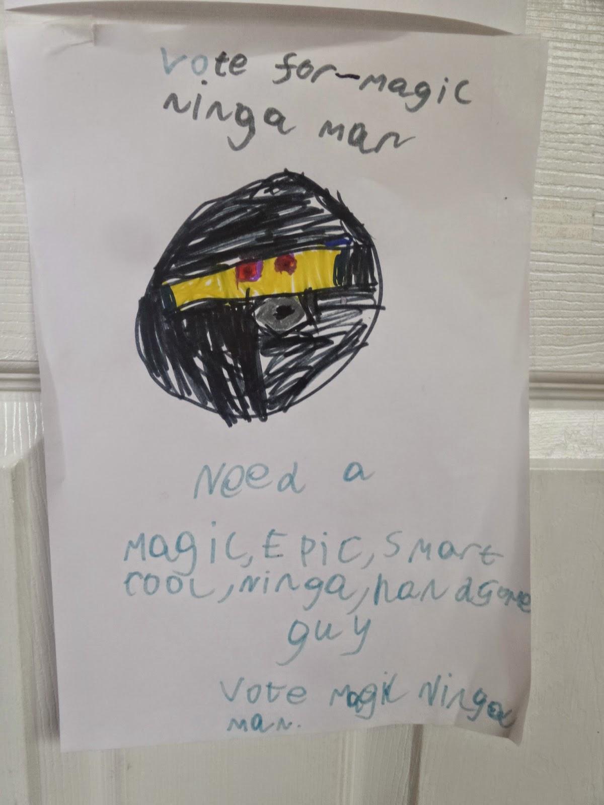 Vote For Magic Ninja Man