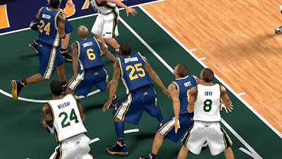 NBA 2K13 Utah Jazz Jersey Mod